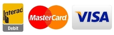 we take Visa and Mastercard